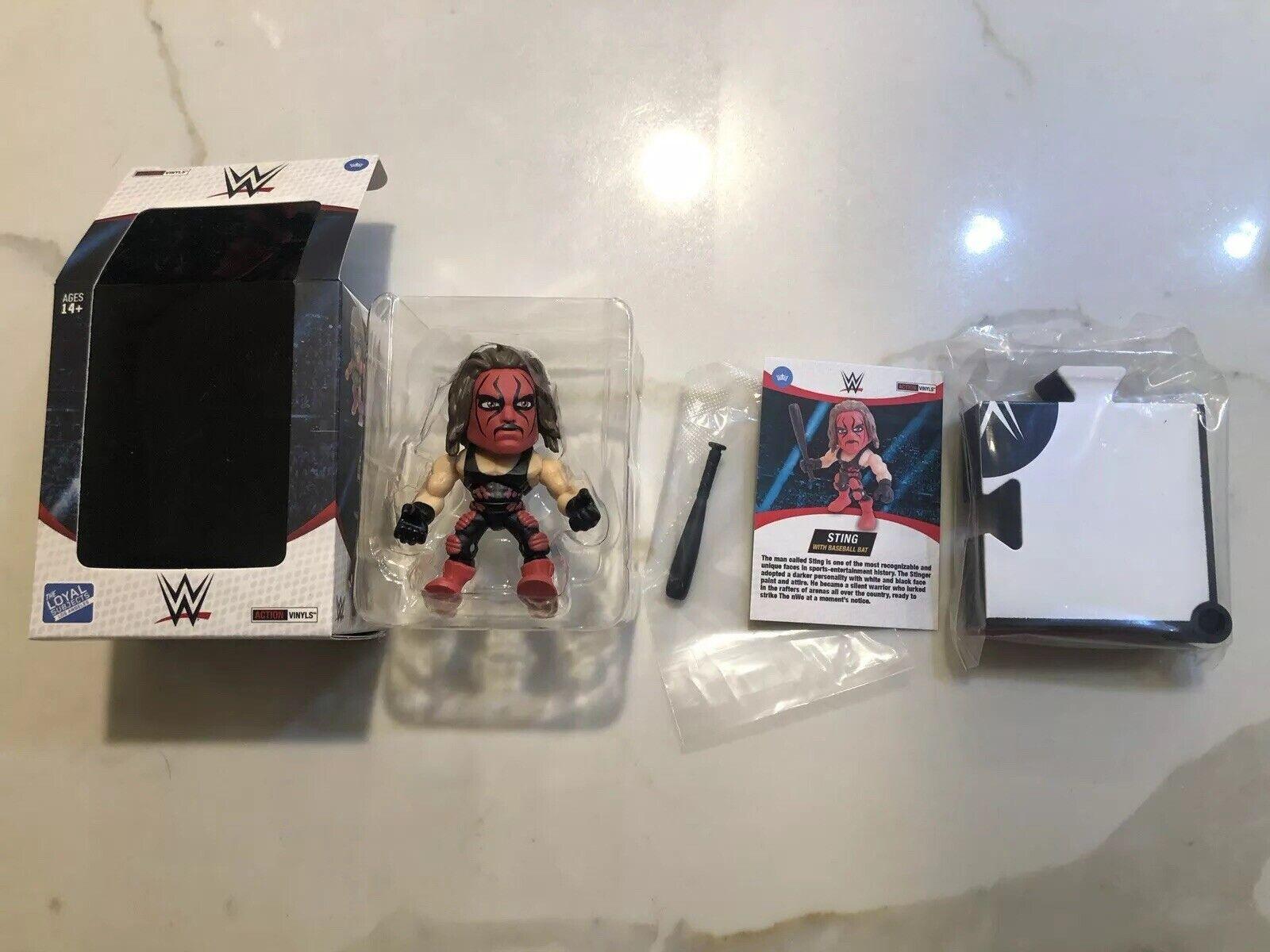 solo para ti The Loyal Subjects WWE 1 96 96 96 Figura de Chase Rojo Sting TLS Sellado  artículos de promoción