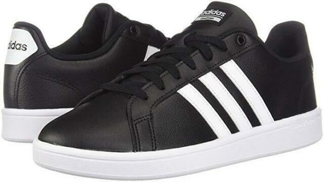 Size 10.5 - adidas Cloudfoam Advantage Black White