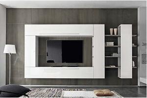Parete attrezzata soggiorno moderna Primo Line 03 sala salotto ...