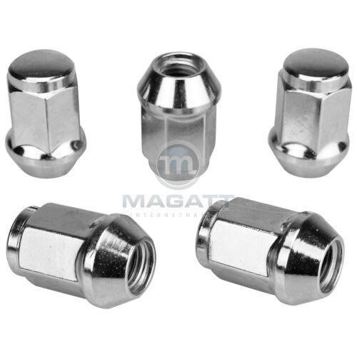 16 cromo tuercas de rueda a llantas de aluminio Kia Picanto //// río //// Sephia //// mentor