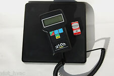 Digital Refrigerant Charging Recovery Scale Accurate 1/4 oz 220 lb Capacity HVAC