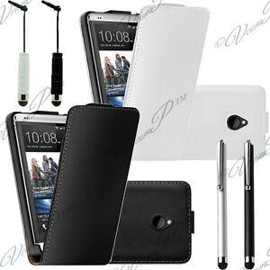 Accessoires-Housses-Coque-Etui-Support-Rabattable-Clapet-en-Cuir-HTC-ONE-Mini-M4