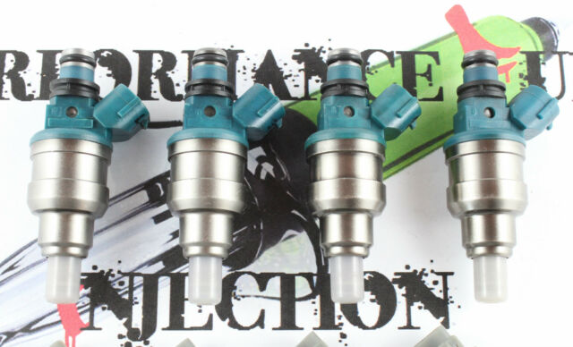 4 - 500cc DIRECT FIT Fuel injectors Toyota 3SGE 3SFE Celica MR2 Camry