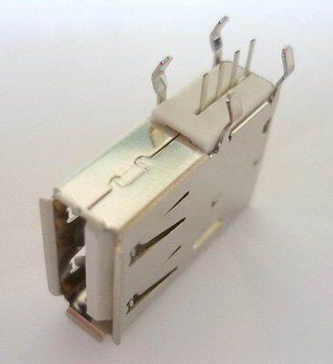 Usb Installazione Presa Frizione A Peso Verticale Print 19,3mm Connettori Lötbuchse-