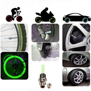 LED-Neon-Wheel-Spoke-Tire-Tyre-Valve-Dust-Cap-Light-Car-Bike-Bicycle-Motorcycle