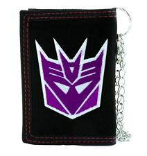 Decepticons Transformers Tri-fold Wallet with Chain Alternative Clothing Megatro