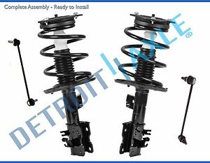 front struts spring sway bar kit for 2007 2008 2009 2010 2011 2012image is loading front struts spring sway bar kit for 2007