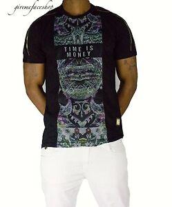 Time-is-Money-retro-black-mesh-t-shirt-g-urban-hip-hop-rock-star-tees-mens