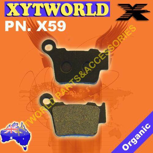 Rear Brake Pads KTM SMR450 SMR 450 2004-2010