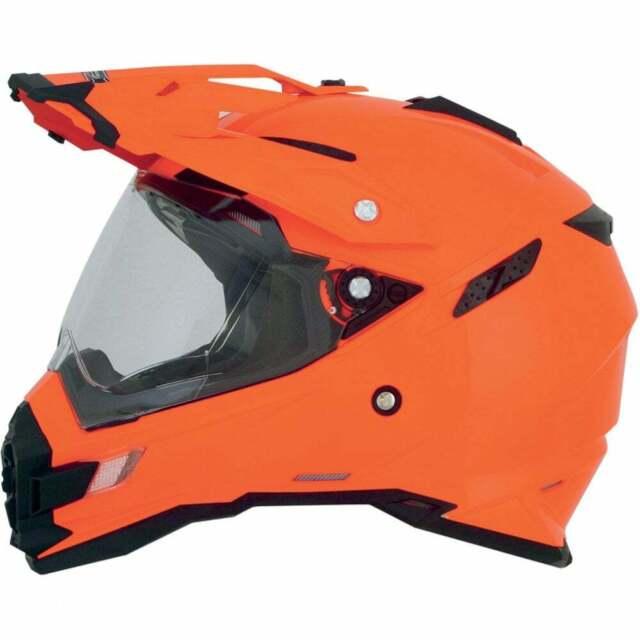 AFX ADULT FX-55 Dual Sport Flat Black Multi Motorcycle Helmet XS-2XL