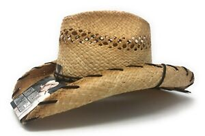 "Jason Aldean's ""She's Country""  Vented Straw Cowboy Hat by Resistol"