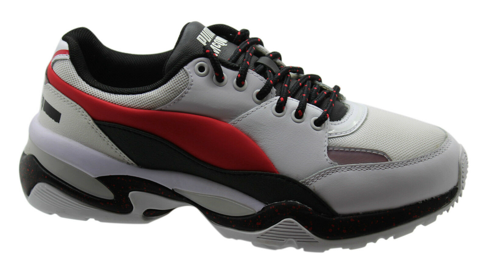 94bc30dc0887 Puma Alexander McQueen MCQ Tech Runner Lo Mens Lace up Trainers ...