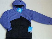 NWT Girls COLUMBIA Winter Jacket Size 7 8 Crash Out Coat Hooded Ski Parka Purple