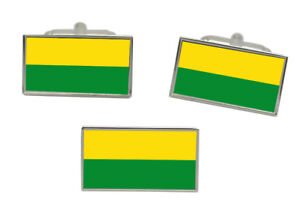Honig Vichada (kolumbien) Flagge Manschettenknopf Und Krawatte Nadel Set