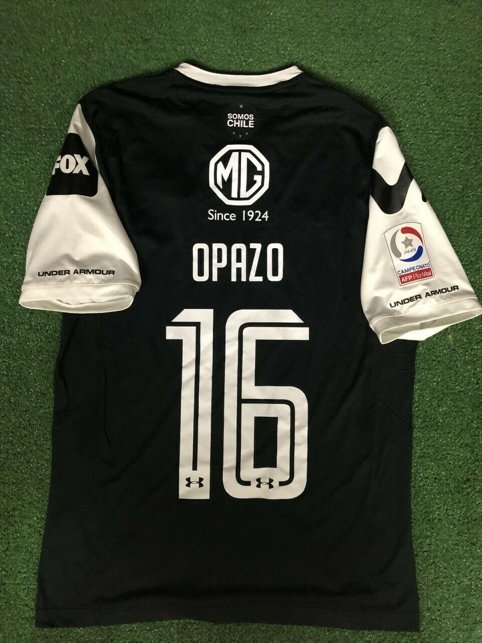 Opazo Colo Colo 2018 coinciden con preparados Camisa Tamaño L