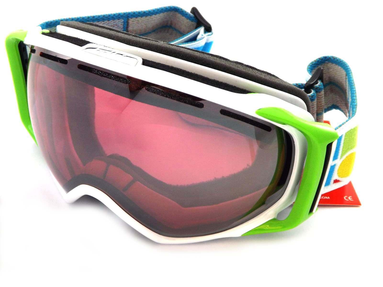 BOLLE Gravity Premium Neve Oc ali Da Sci Bianco verdevermillon gun MIRROR 20820