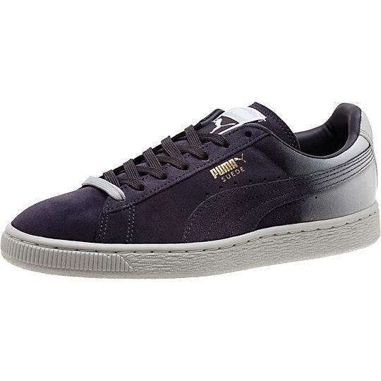 comprar barato Puma Suede Suede Suede Classic + azulr Gradiente 360793 01 periscope glacier gris blancooo oro  marca