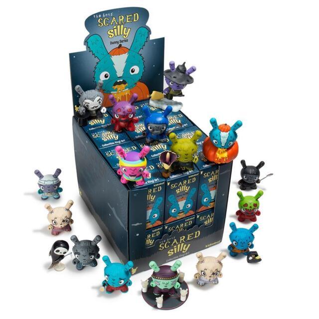 Many Faces of Spongebob Mini Series New Sealed Display Case 24 pcs by Kidrobot