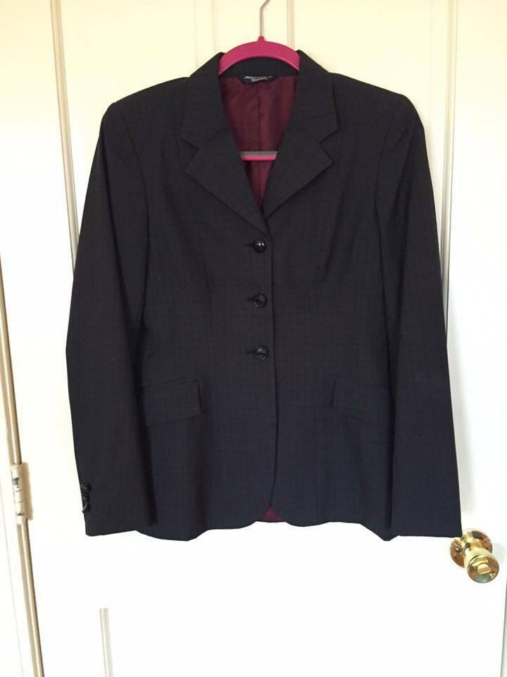 Ladies Grand Prix Wool Show Coat 10-R