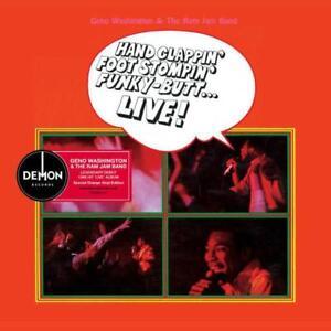GENO WASHINGTON Hand Clappin' Foot Stompin' Live NEW & SEALED ORANGE LP VINYL