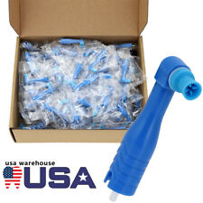 100pcsbox Dental Disposable Prophy Angles Soft Firm Cup Latex Free Supplies Usa