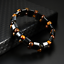 thumbnail 2 - Double Hematite Tiger's Eye Natural Bracelets Men Women Charm Bracelets Jewelry