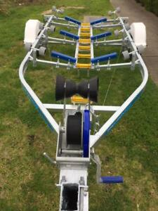 Precision-Boat-Trailer-Drive-On-Galvanised-5-6mt-suit-17ft-FREE-DEL-VIC-WIDE
