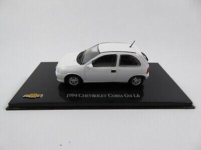 CORSA GSI WHITE 1994 CAR MODEL JQ68 1:43 VAUXHALL ALTAYA IXO CHEVROLET