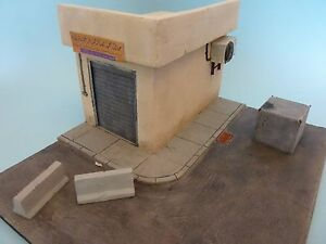 1-35-Scale-Gulf-war-Check-point-Diorama-set-Large-ceramic-model-kit