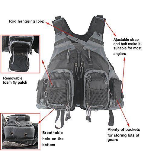 KyleBooker Fly Fishing Vest Pack Fishing Vest//Fishing Sling Pack//Fishing Back...