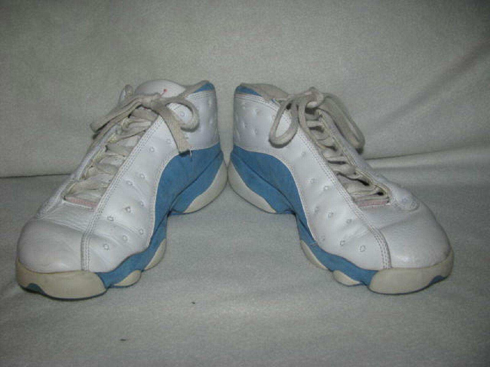 newest 718bb 62c5b ... ireland nike air jordan xiii low 13 bleu retro sz 8.5 blanc bleu 13  sneakers 310804 ...