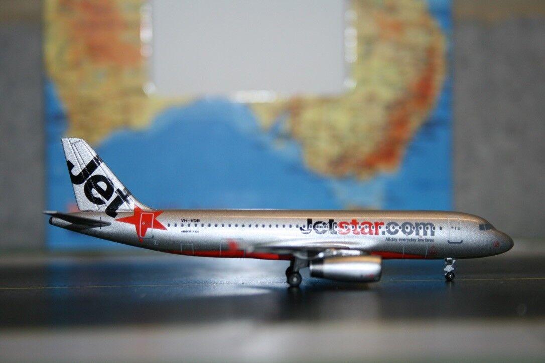 Aeroclassics 1 400 Jetstar Airbus A320-200 VH-VQB (acvhvqb) Fundición Modelo de Avión