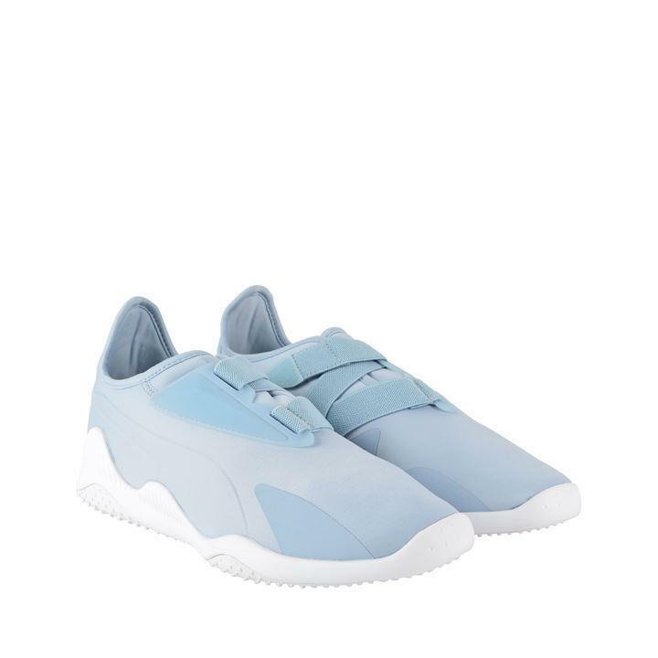 Puma Mostro Mens Trainers Casual Touch Fasten Trainer Running shoes bluee White
