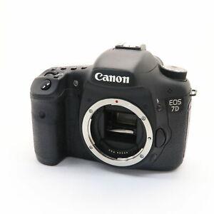 near-Mint-Canon-EOS-7d-18-0mp-digitale-Spiegelreflexkamera-schwarz-mit-Ladegeraet