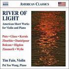 River of Light: American Short Works for Violin & Piano (CD, Aug-2011, Naxos (Distributor))