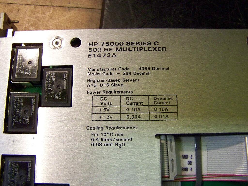 HP Agilent Keysight E1473A