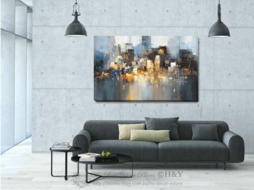 City Bay View Canvas Print Framed Wall Art Home Office Shop Bar Decor Gift  DIY