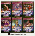 2001 Teamcoach Trading Cards Base Prize Team Set Brisbane (6)