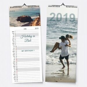2019 Personalised Custom Kitchen Calendar Your Photos Image Home