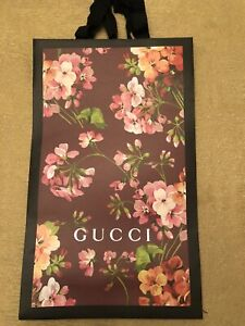 Gucci-Limited-Edition-Burgundy-Purple-Pink-Floral-Paper-Shopping-Bag