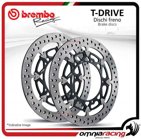 pareja discos Freno Brembo T-Drive 320mm Ducati Monster S4R 2003>2006