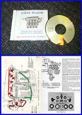 Gipsy Major Engine Manual on CD - Tiger Moth etc