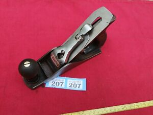 Vintage Stanley No 3 Smoothing Plane in Only Fair Condition Some Minor Pitting
