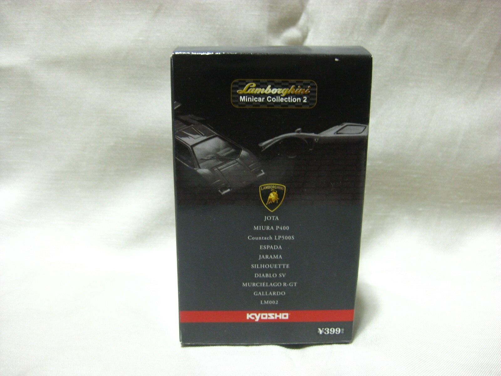 1 1 1 64 Kyosho Lamborghini Jota Red Diecast Model Car e3b6e5