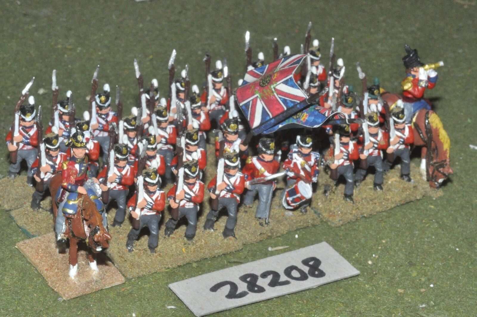 25mm napoleonic   british - line 36 figures - inf (28208)