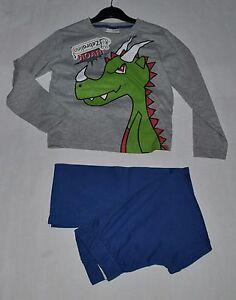 detailed look 5ac2c 5c758 Details zu Zebralino sehr schöner Schlafanzug in Gr. 110 Neu Krokodil