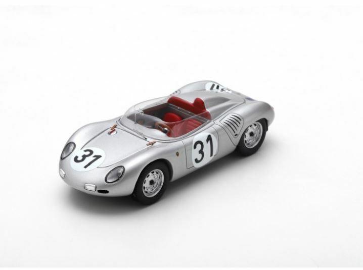 Porsche 718 RSK - Jo Bonnier W. Von Trips - 24h Le Mans 1959  31 - Spark