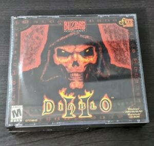 Diablo-2-PC-game-PC-MAC-2000-Case-and-3-Discs