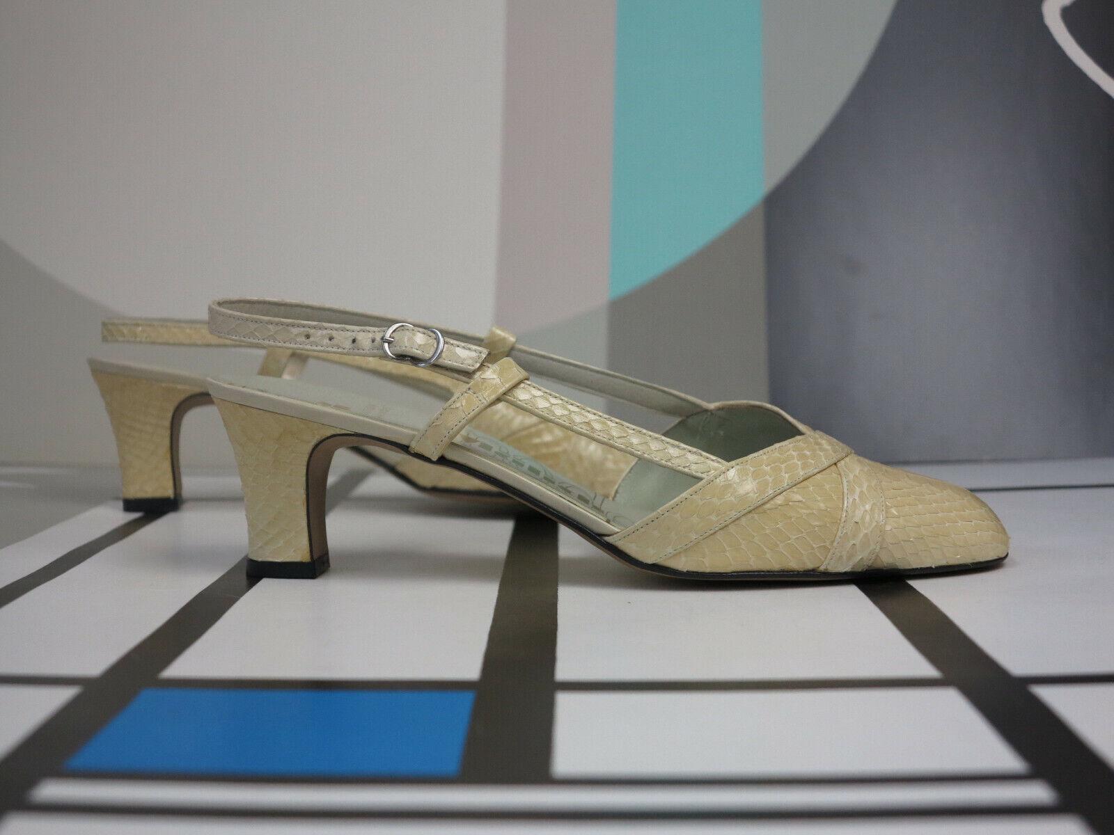 risparmia fino al 70% Mälich Scarpe Donna Sandali Pumps 80er True True True Vintage 80s donna scarpe BEIGE NOS  merce di alta qualità e servizio conveniente e onesto