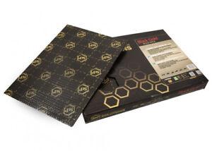 4-Fogli-STP-BLACK-GOLD-Pannelli-Antivibrante-Insonorizzante-Auto-370x250x2-3mm